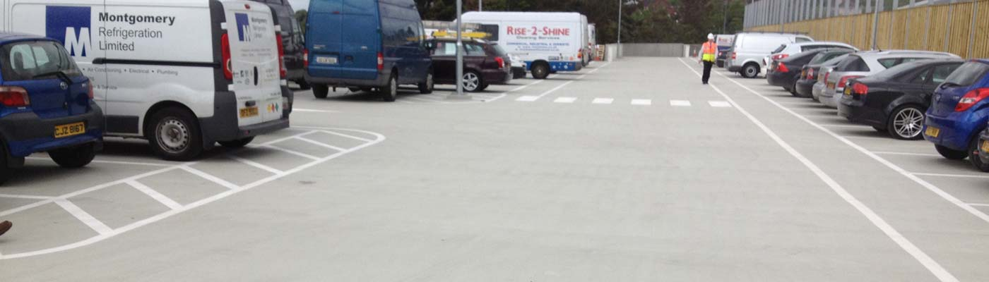 Tesco Newry Carpark Completed